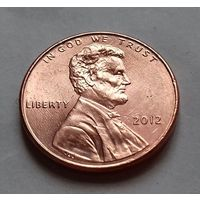 1 цент США 2012 г., AU