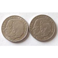 Швеция, 1 крона 1991, 2000 г.