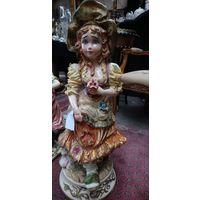 Кукла, керамика, Capodimonte Italian, середина XX века