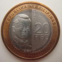 Филиппины 20 писо 2019 г.