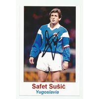 Safet Susic(ех-Югославия). Фотография с живым автографом.