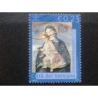 Ватикан 2002 дева Мария, фреска