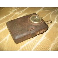 Старый карманный фонарик фонарь ВИЗ