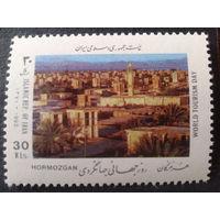 Иран 1992 туризм, город