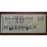 Германия / 10 millionen mark / 1923 год / Ro-95