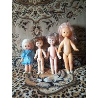 Куклы 4 шт одним лотом