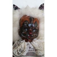 Характерная кукла - кот  50 см. Под реставрацию.