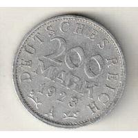 Германия 200 марка 1923 А