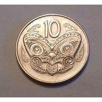 10 центов, Новая Зеландия 1970 г.