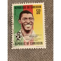 Камерун 1993. Футболист Mbape Lepe