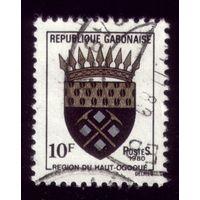 1 марка 1980 год Габон 739