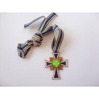 Материнский крест в золоте. Оригинал. Арт 32л.