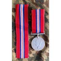 Медаль Великобритании за победу над Германией.Можно ленту отдельно.