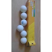 Мячи для настольного тенниса. 6 шт.