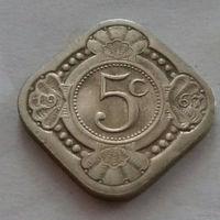 5 центов, Нидерландские Антильские острова, (Антиллы) 1967 г.
