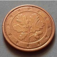 2 евроцента, Германия 2004 F, AU