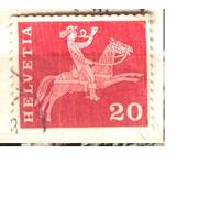 Швейцария 1960 стандарт, почтальон 19-го века