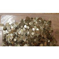 Монеты СССР 1961 г.-1991 г. вес 8,80 кг. без перебора