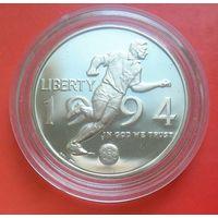 1/2 Долларa 1994 год. США  P (Футбол. Чемпионат мира)
