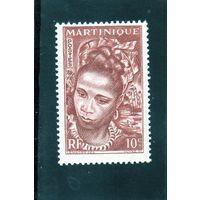 Мартиника.Ми-226.Молодая островитянка.1947.