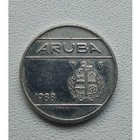 Аруба 25 центов, 1988  8-11-27