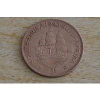Южная Африка 1 пенни 1942