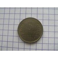 Узбекистан 5 тийин 1994г.km3.1