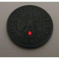 Германия, 1 пфенниг 1941 года, -А-