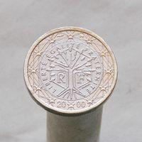 Франция 1 евро 2000