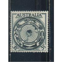 GB Австралия 1954 Австралийские южнополярные области Карта #249
