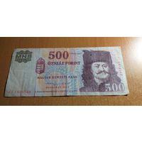 500 форинтов Венгрия 2013