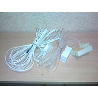 Для домашнего стационарного телефона провода + розетки. Всё вместе, одним лотом.