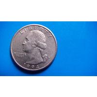 США 25 центов 1994г P. распродажа