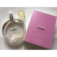 Флакон пустой и коробочка от туалетной воды Chanel chance 100 мл оригинал