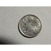 Канада 5 центов 1906г
