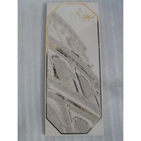 Плитка керамическая Рим, золотое напыление.