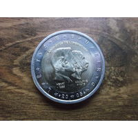 Люксембург 2 евро 2005      50 лет правящему монарху Анри Нассау и 100 лет со дня смерти герцога Адольфа