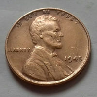 1 цент, США 1945 г.