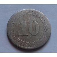 10 пфеннигов, Германия 1875 C