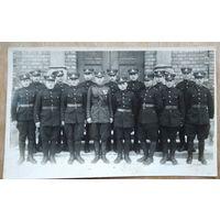 Фото литовских военных. 1930-е. 8.5х13 см.