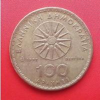 66-24 Греция, 100 драхм 1992 г.