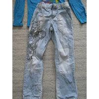Модные фирменные джинсы Gloria Jeans р.104-116
