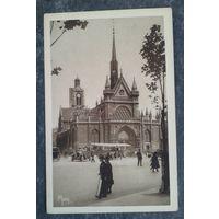 Старинная открытка. Париж (29). Подписана