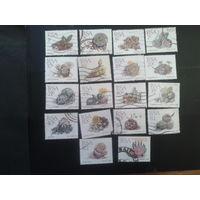ЮАР 1988-2003 цветы, камнеломки 18 марок