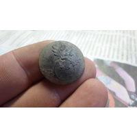 Пуговица гренада олово