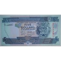 Соломоновы острова 5 долларов. Цена за 1 шт. (g)
