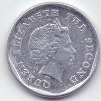 Восточные Карибы, 1 цент 2011 года.