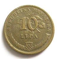 Хорватия 10 липа 1997