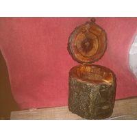 Шкатулка ручной работы из сливы