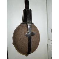 Фляга Германия Wehrmacht егеря ESB 41 к-т с доп кольцом